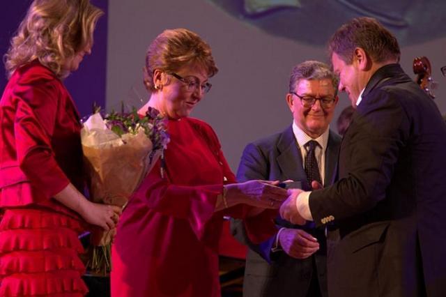 Игорю Бутману вручена медаль ЮНЕСКО