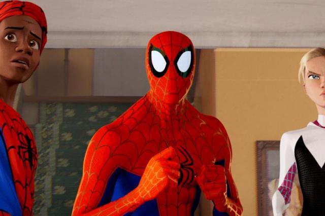 Клип к анимационному приключению «Человек-Паук: через вселенные»