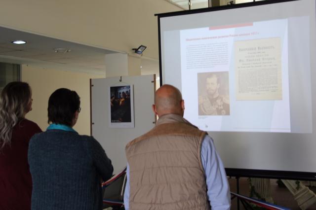 В РЦНК в Вифлееме открылась электронная выставка «Код революции»