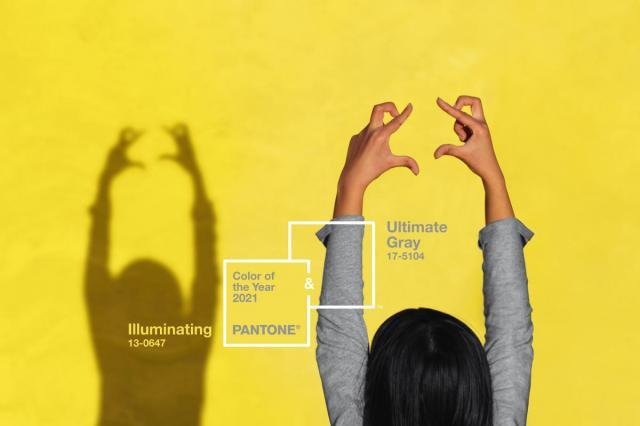 Два главных цвета 2021 года по версии американского Института цвета Pantone