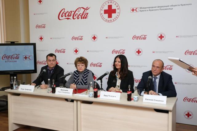 Российский Красный Крест и Coca-Cola пополняют запасы непродовольственных товаров на случай чрезвычайных ситуаций