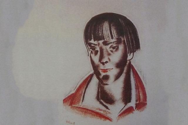 Прижизненный портрет Марины Цветаевой приедет из Парижа в Москву