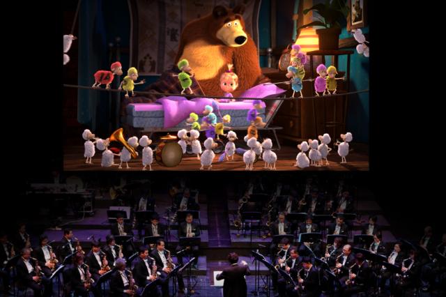 «Маша и Медведь» с оркестром: легендарный мультфильм впервые станет киноконцертом