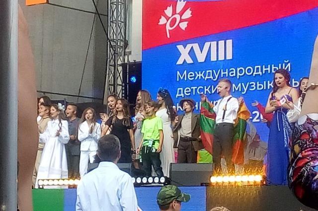 В Витебске прошло первое отделение детского эстрадного конкурса