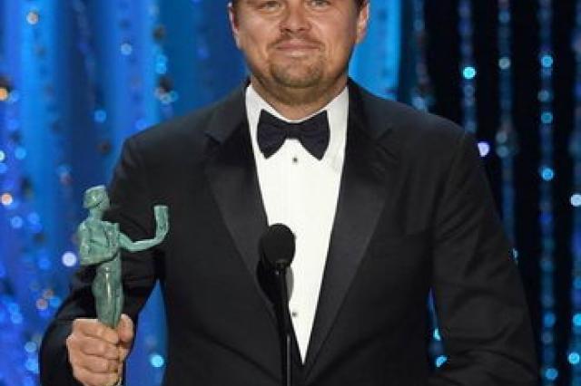 Леонардо ДиКаприо получил премию Гильдии киноактёров