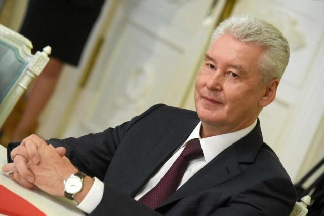 Сергей Собянин поздравил Евгения Герасимова с днем рождения