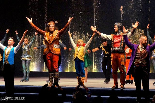 Таинственная «Астролябия»  в Цирке танцующих фонтанов «Аквамарин» (часть 2)