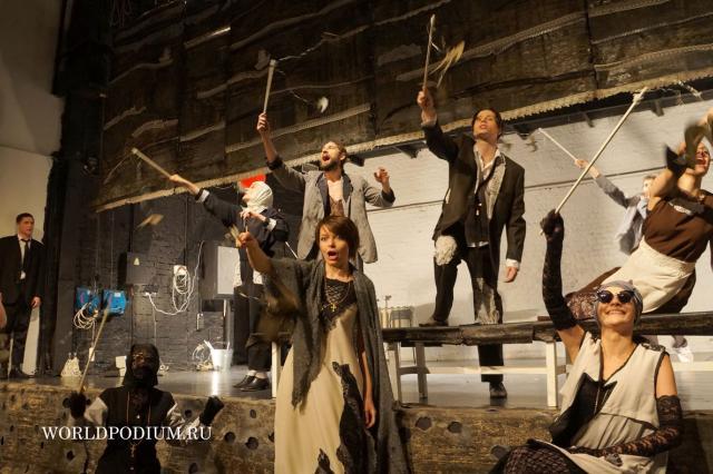 """""""Отчего люди не летают?!»-спектакль «Гроза» театра-студии «25 ряд»"""