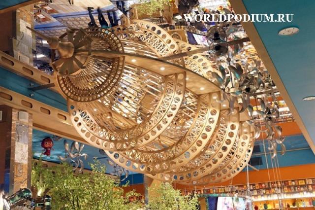 Ресторан «Грабли» в ЦДМ – увлекательное путешествие на воздушном шаре по городам гастрономических наслаждений!