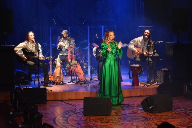 Певица Варвара собрала аншлаг в историческом зале «Геликон оперы»