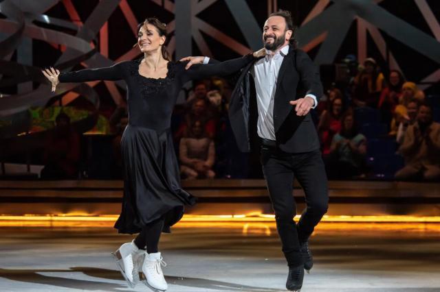 Танец Елены Исинбаевой и Ильи Авербуха в финальном выпуске шоу «Ледниковый период -2020»