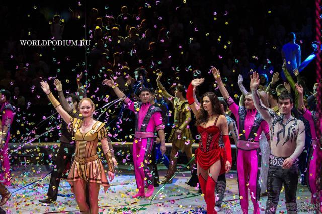 Большой московский цирк впервые приехал с гастролями в Хельсинки