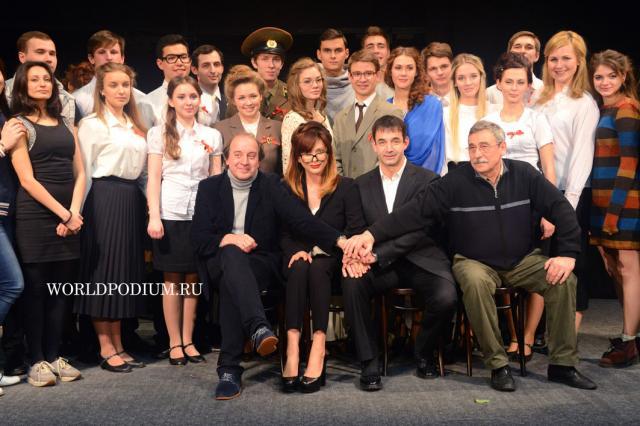 Профессиональный дебют на родине русского театра