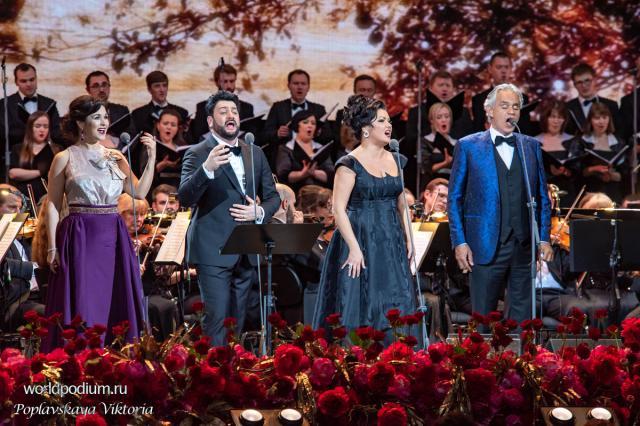 Звёзды оперы на сцене Кремля!