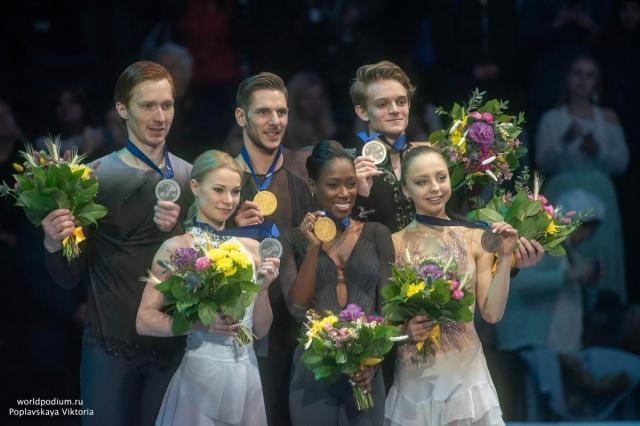 Эксклюзив из Минска: второй день Чемпионата Европы по фигурному катанию