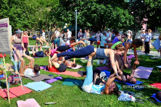 В МУЗЕОНЕ прошел международный день йоги