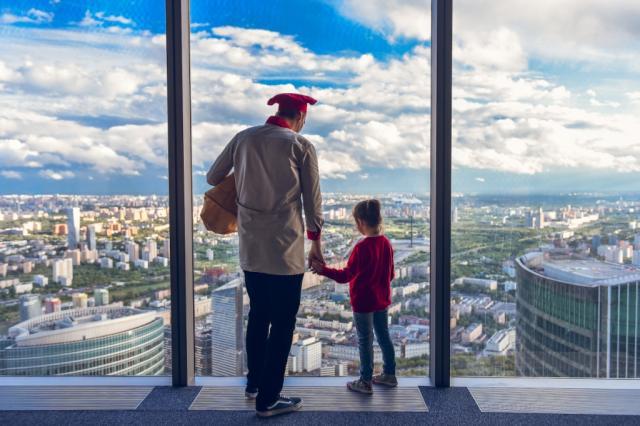 Концерт финалистки конкурса «Детская Новая Волна» на самой высокой смотровой площадке Европы