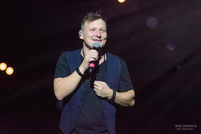 Михаил Бублик  выступит с концертом на сцене ресторана Backstage!