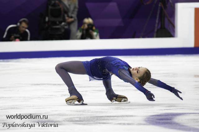 Александра Трусова победила на втором этапе Кубка России по фигурному катанию
