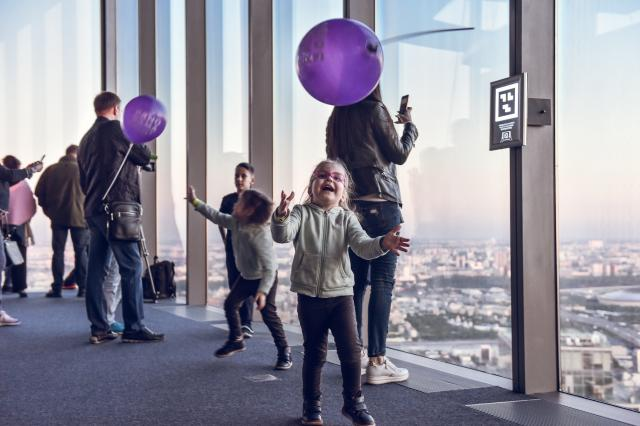 2 июня дети смогут бесплатно посетить самую высокую Смотровую площадку Европы Panorama 360