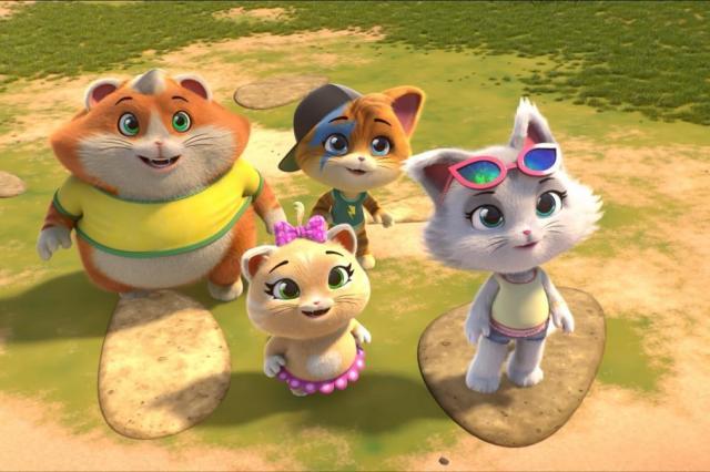 «44 котёнка» стал самым популярным мультсериалом телеканала «Карусель»