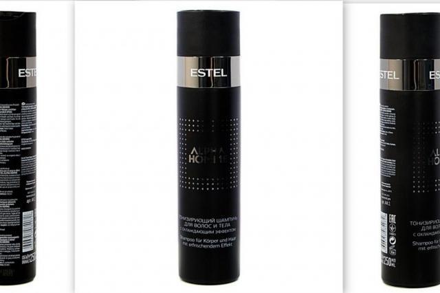 Тонизирующий шампунь с охлаждающим эффектом ALPHA HOMME от ESTEL Professional