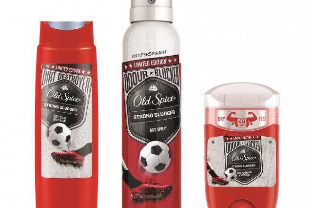 Новая коллекция Old Spice Strong Slugger в специальном футбольном дизайне к ЧМ-2018 по футболу