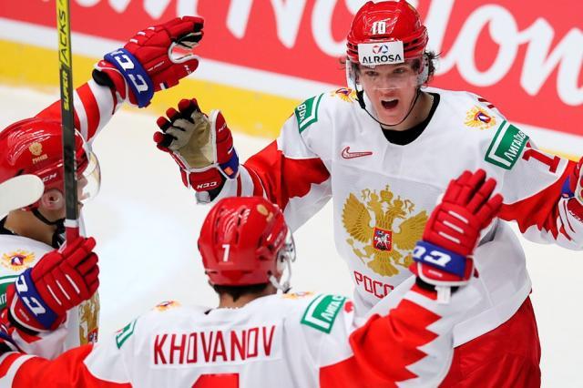 России обыграла Швейцарию со счетом 3:1 вышла в полуфинал МЧМ