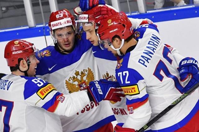 Сборная России обыграла немцев в матче группового этапа чемпионата мира