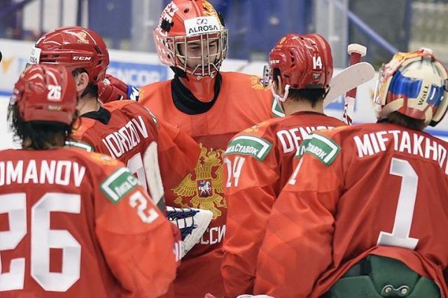 Россия сыграет со Швейцарией в 1/4 финала Молодёжного Чемпионата мира