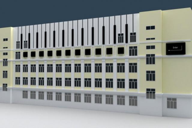 Художница превратит столичную школу в большой музыкальный инструмент