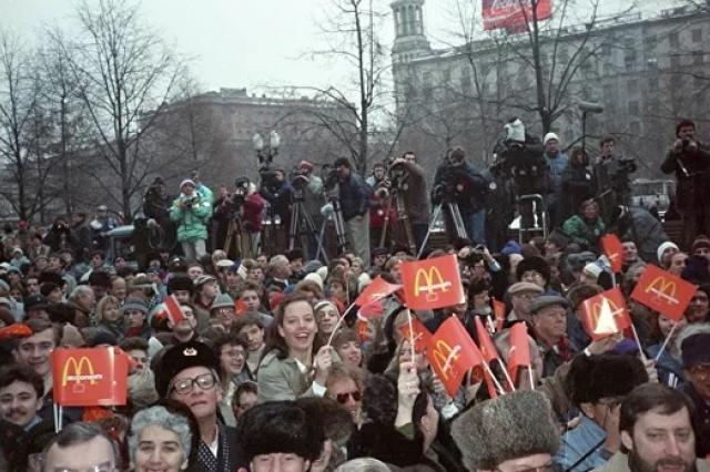 Ресторану «Макдоналдс» в России – 30 лет: архивные факты и современные тенденции