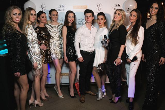"ALLA COUTURE и Катя Гусева устроили полный fashion в ресторане ""Облака"""
