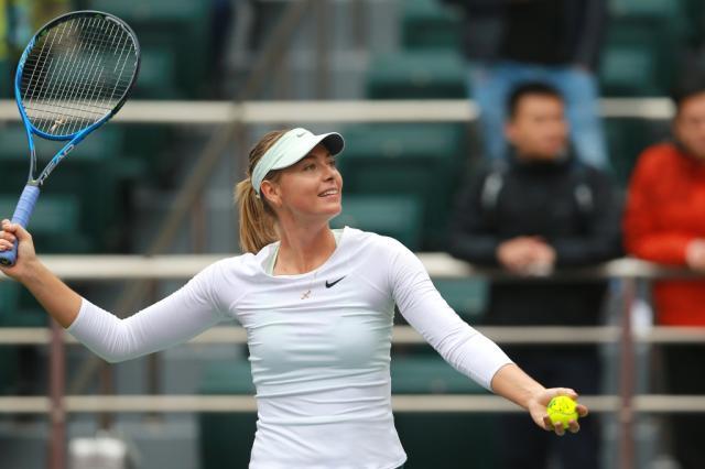 Шарапова победила Соболенко в финале турнира WTA в Тяньцзине