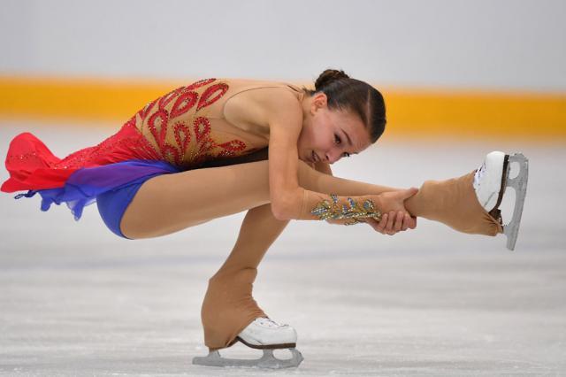 Фигуристка Щербакова выиграла этап Гран-при в Лас-Вегасе