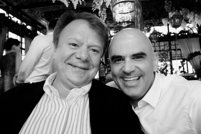 Футбол объединяет: Игорь Бутман и Президент Швейцарии Ален Берсе сыграли джаз в Ростове-на-Дону