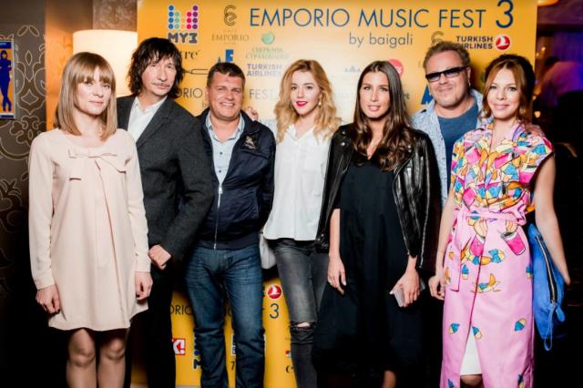 25 апреля - открытие Emporio Music Fest 5 Байгали Серкебаева