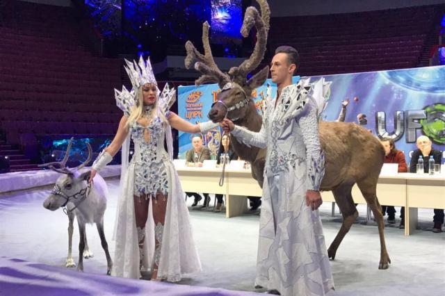 Пресс-конференция  новогодних шоу в Большом Московском цирке