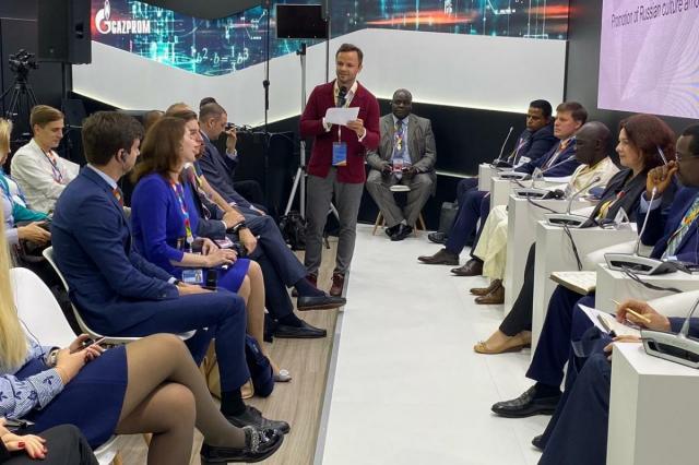 В рамках Форума Россия – Африка обсудили вопросы продвижения российской культуры среди иностранной молодежи