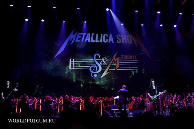 """Группа SCREAM INC на сцене Кремлевского Дворца с программой """"METALLICA-show"""""""