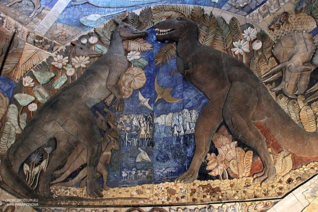 Палеонтологический музей Москвы - один из крупнейших естественно-исторических музеев мира