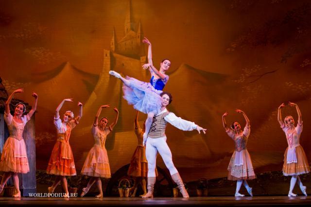 V Международный фестиваль балета в Кремле. Жизель (часть 2)
