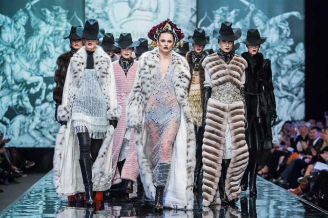 Дом Моды «MARIASHOSHEVA» Haute couture в мире меха