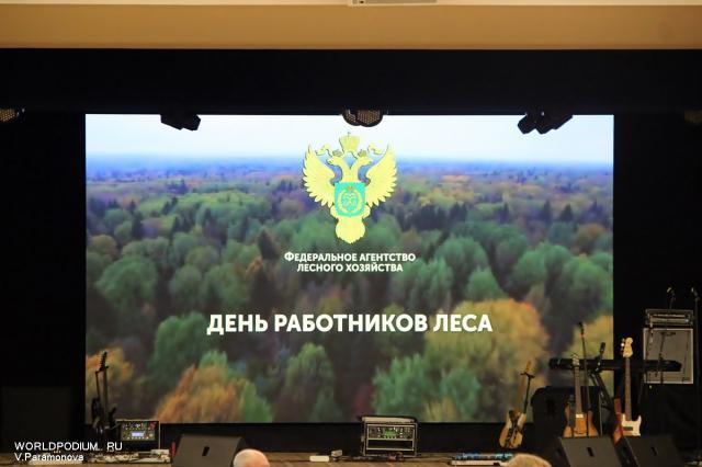 Мероприятие посвящённое Дню работника леса в Кремле