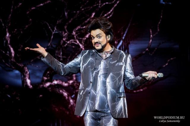 Филипп Киркоров перенес концерты в Кремле