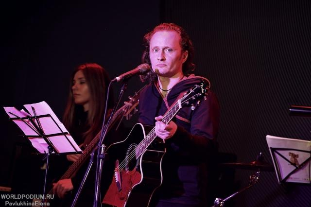 Первый сольный авторский концерт актера, музыканта, автора-исполнителя Константина Скрипалёва