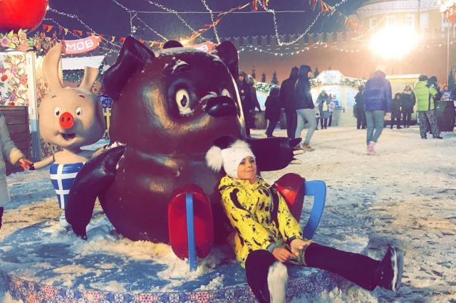 Новогоднее настроение в центре Москвы!