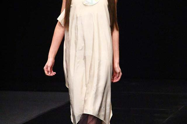Asya Solovyeva на Неделе моды в Москве