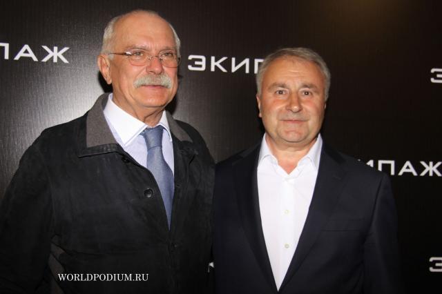 Никита Михалков и Владимир Мединский запустят поезд «Легенды кино»