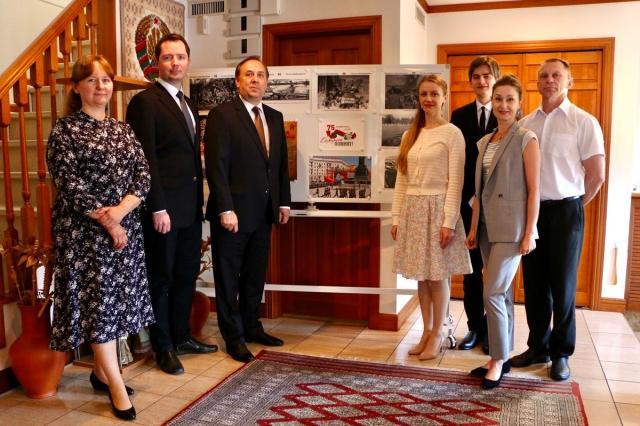В Посольстве Белоруссии в Японии открылась памятная экспозиция
